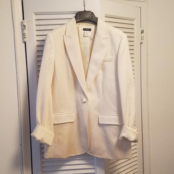 J. Crew Jackets & Blazers - JCrew | Cream blazer - size 4T